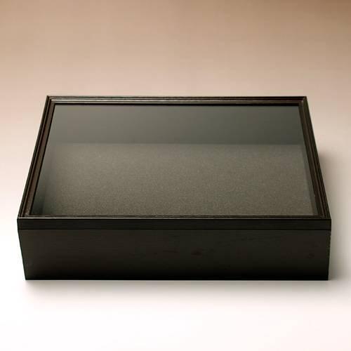 シーラ箱 (ブラック) 昆虫 標本用品 標本箱