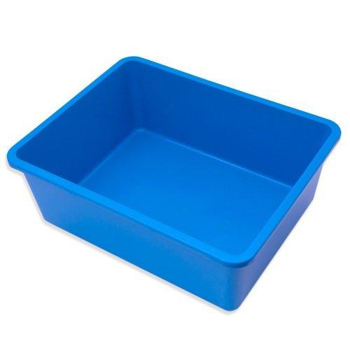 鈴木製作所 角型タライ フラット 青 ビオトープ めだか