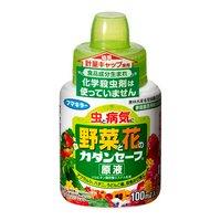 フマキラー 食品成分生まれの殺虫殺菌剤 カダンセーフ原液 100ml