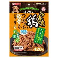 サンライズ ゴン太のうま味鶏とつぶつぶ軟骨入りジャーキー 緑黄色野菜入り 420g