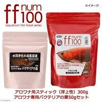 ff num100アロワナ用スティック(浮上性)300g+アロワナ専用バクテリアの素50gセット
