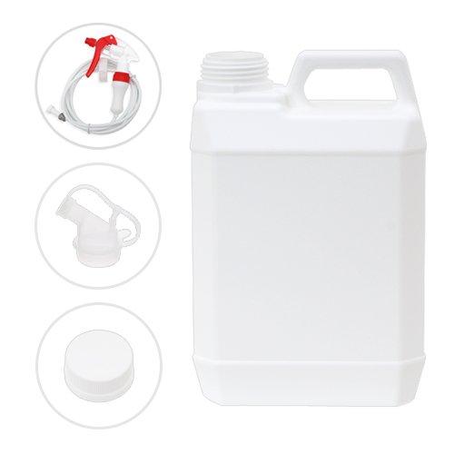 ポリ容器 キャップ・透ノズル付き 2L(空ボトル) 高性能ロングスプレーセット
