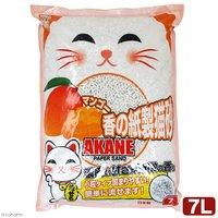 マンゴー香の紙製猫砂 7L