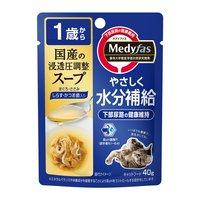 メディファス スープパウチ 1歳から成猫用 しらすかつお節入り 40g