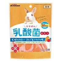 ミニアニマン ウサギの乳酸菌おやつ 毛玉ケアゼリー りんご&にんじん味 16g×8個