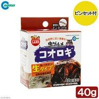 マルカン 虫グルメ コオロギ 40g 缶入り ピンセット付