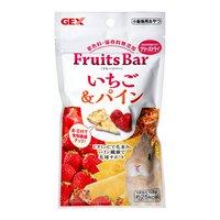 GEX フルーツバー いちご&パイン 8g うさぎ おやつ