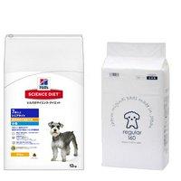 サイエンスダイエット シニアライト 小粒 肥満傾向の高齢犬用 12kg + 国産ペットシーツ 薄型レギュラー 160枚セット